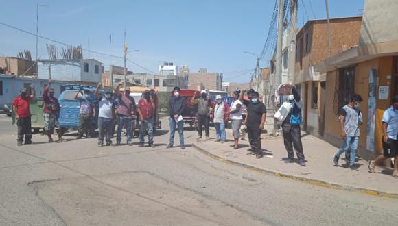 Acusan que la Municipalidad Distrital de Chala no concluye una obra que afecta la circulación e sus vehículos. (Foto: Difusión)
