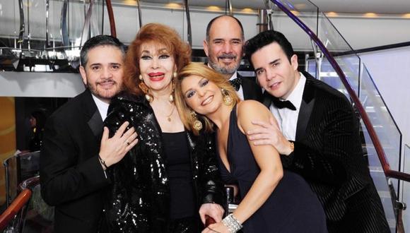 Falleció Itatí Zucchi de Cantoral, mamá de la actriz mexicana Itatí Cantoral. (Foto: @josecantoraloficiall)