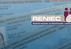DNI vencido tiene vigencia hasta el 30 de junio, señala Reniec