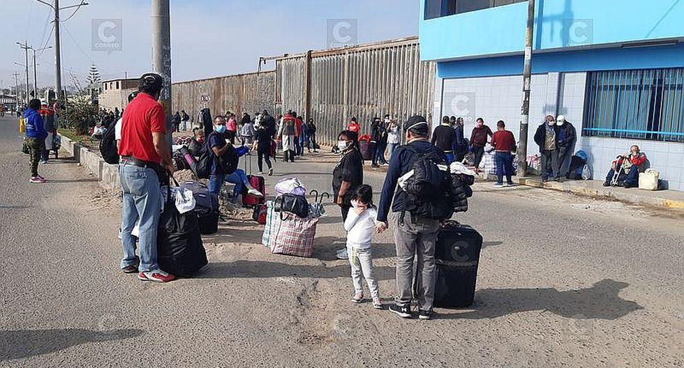 Retornan a Lima 234 personas varadas en Tacna