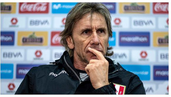 Ricardo Gareca confirmó que la selección peruana no jugará este martes en Lima