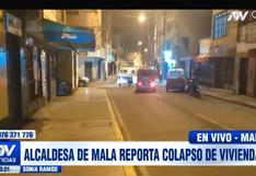 Sismo en Mala: reportan colapso de viviendas y personas accidentadas tras temblor de magnitud 6.0