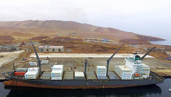 Puerto de Pisco reincorporó servicio de transporte de contenedores