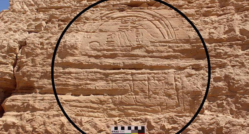 Arqueología: Descubren escultura poco común de más de 2.300 años en Egipto (FOTOS)