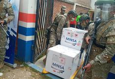 Llega lote de 9 554 vacunas para completar segunda dosis a trabajadores de salud de Junín