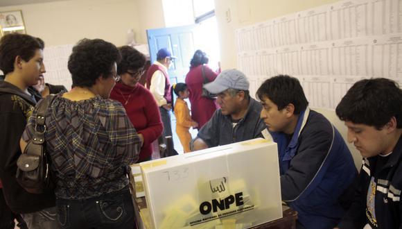 La ONPE organizará por primera vez los comicios internos de los partidos que participarán en las Elecciones Generales 2021. (Foto: GEC / Referencial)