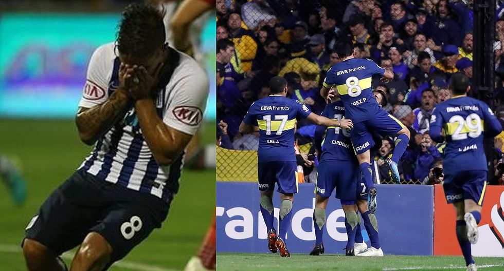 Alianza Lima fue goleado 5-0 por Boca Juniors en su último partido por Copa Libertadores