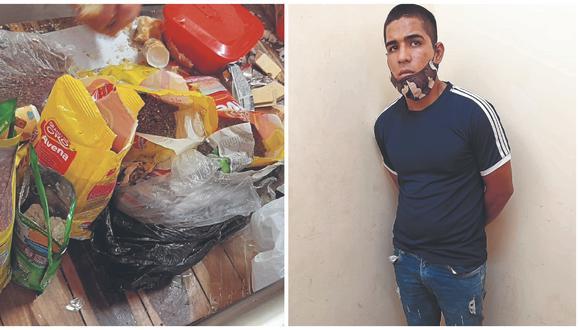 Rodrigo Ruíz Chempen también llevaba camuflados en paquetes de alimentos y pantalones varios celulares. Él sujeto iba visitar a reo.