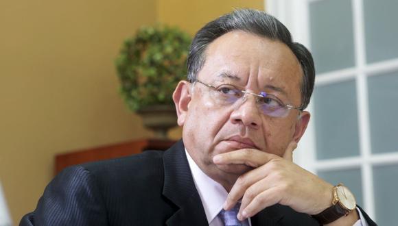 """Edgar Alarcón presentó tres audios que revelarían la influencia de Martín Vizcarra en el caso Richard """"Swing"""". (Foto: GEC)"""