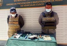 En Cusco detienen a sujetos dedicados al robo de memorias de automóviles