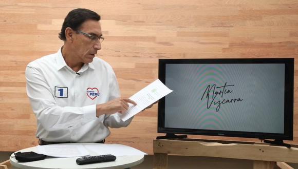 Martín Vizcarra presentó una medida cautelar contra el Congreso ante la Comisión Interamericana de DD.HH. (Facebook)