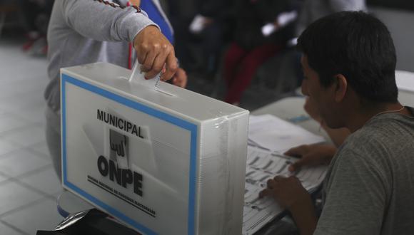 Las Elecciones Regionales y Municipales (ERM) del 2022 se realizarán en octubre de ese año. (Foto: César Campos/GEC)