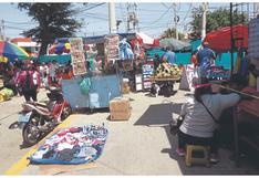 """Declaran la """"guerra"""" a los ambulantes en Piura"""