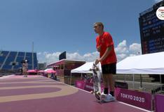 Angelo Caro avanzó a la final de skate en los Juegos Olímpicos Tokio 2020