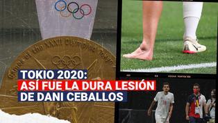 Dani Ceballos se perdería el resto de los Juegos Olímpicos tras sufrir dura lesión
