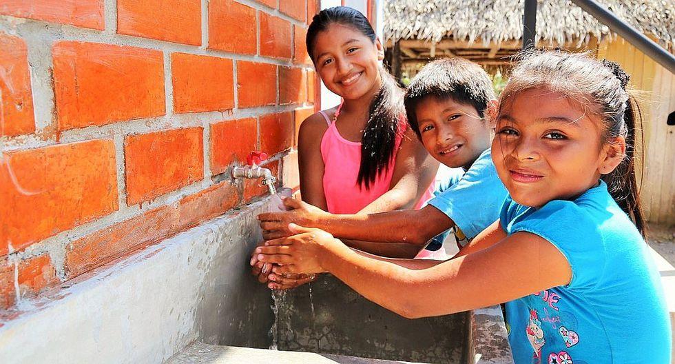 Invertirán S/ 3.8 millones en obra de agua y saneamiento