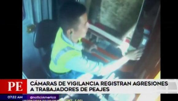 Trabajadores de peaje sufren constantes agresiones por parte de conductores (VIDEO)