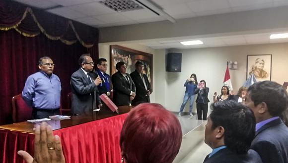 Fernando Gamarra Morales informó que por disposición del gobierno central el pago de la deuda social se suspende 60 días. (Foto: Correo)