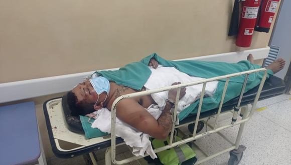 INTERNADO Luis Hernández fue arrollado tras cometer el presunto robo.