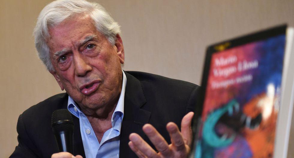 Mario Vargas Llosa aseguró que en Chile no hay pobreza extrema, pero es falso. (AFP / ORLANDO ESTRADA).