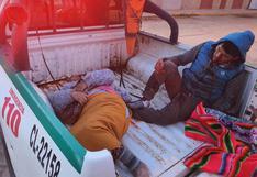 Choque frontal deja cinco muertos en la carretera Juliaca-Huancané