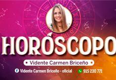 Horóscopo HOY domingo 9 de mayo 2021 predicciones de Carmen Briceño según tu signo zodiacal