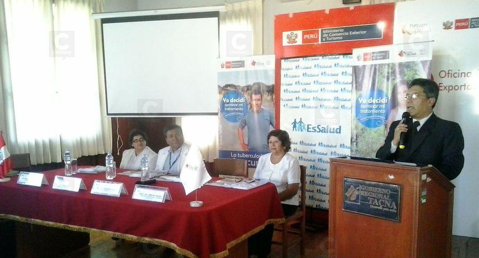 Tacna ocupa el cuarto lugar en el país con más casos de TBC