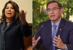 """Martha Chávez a Martín Vizcarra: """"¡No se le ocurra luego desconvocar """"fácticamente"""" las elecciones"""""""