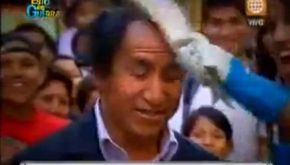 """Agarran a """"pescadazos"""" a alcalde de Lauricocha"""
