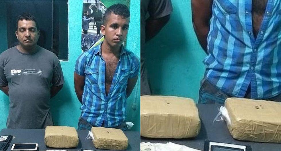 Detienen a un postulante a escuela de la Policía con droga junto a otra persona