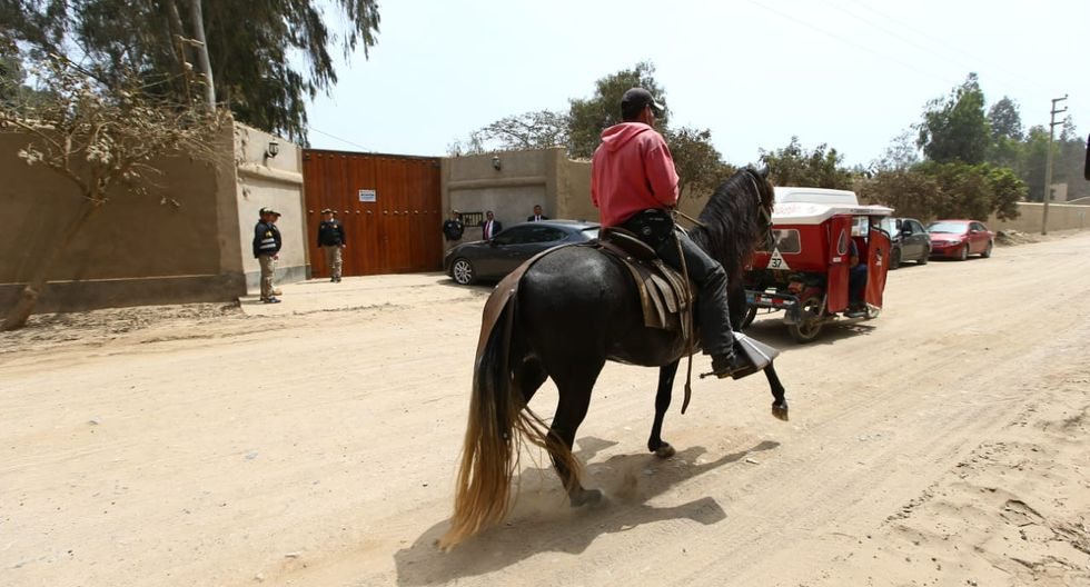 El inmueble de PPK ubicado en Cieneguilla fue incautado el 23 de setiembre. (Foto: Mario Zapata / GEC)
