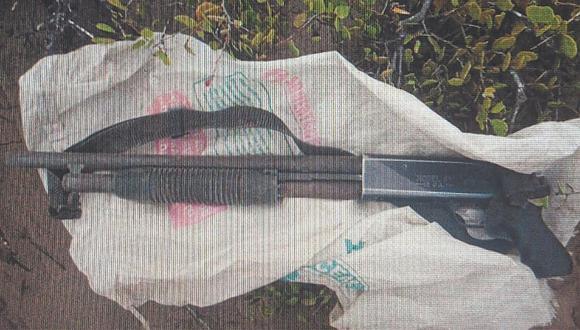 Caen seis sospechosos provistos de un arma de fuego en Mocupe