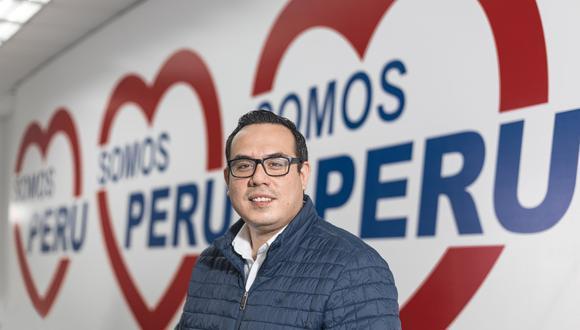José Jerí, vocero de Somos Perú-Partido Morado, confirmó la reunión con la primer ministra. (Foto: Archivo GEC)