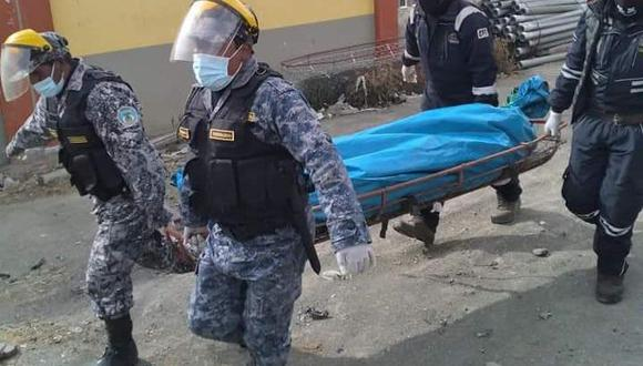 El cuerpo inerte fue trasladado hasta la morgue del Instituto Medicina Legal del distrito de Asillo. (Foto: Referencial)