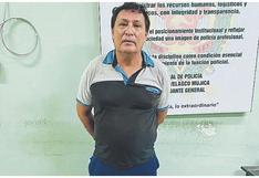 Prófugo Fernando Viñas cae en Tumbes