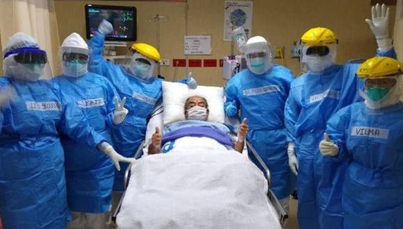 Médico vence al COVID-19 tras permanecer 60 días en cuidados intensivos en Cusco. (Foto referencial: Andina)