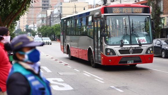 La titular de la ATU destacó que tener un carril exclusivo hará que el sistema sea más ágil. (Foto: GEC)