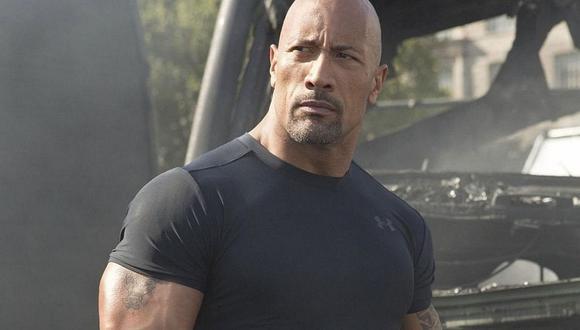 """Dwayne 'The Rock' Johnson no estará presente en """"Rápidos y furiosos 10' y '11'. (Foto: Universal Pictures)"""