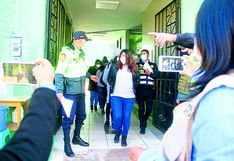 Cuatro trabajadores de municipalidad fueron intervenidos celebrando cumpleaños con licor en Huancayo