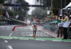 Gladys Tejeda gana medalla de oro en maratón femenina en los Juegos Panamericanos Lima 2019 (VIDEO y FOTOS)