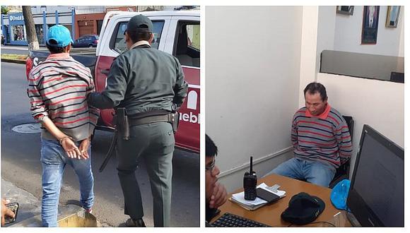Pueblo Libre: detienen a sujeto que robaba a transeúntes ebrios (FOTOS Y VIDEO)