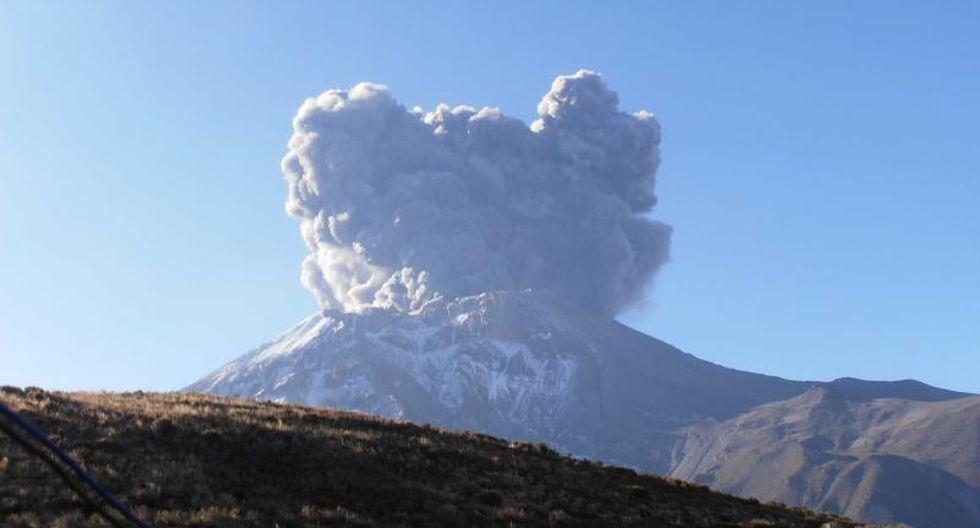 Volcán Ubinas: Gobierno Regional de Moquegua declara alerta amarilla