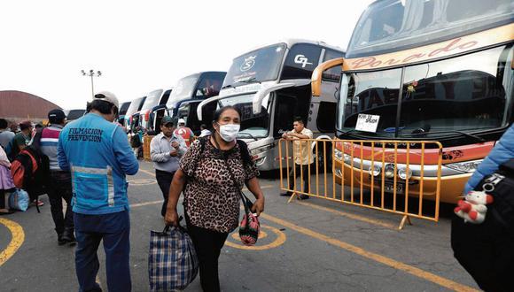 Tarifas se mantendrán y se acatarán el protocolo sanitario en buses interprovinciales  (GEC)
