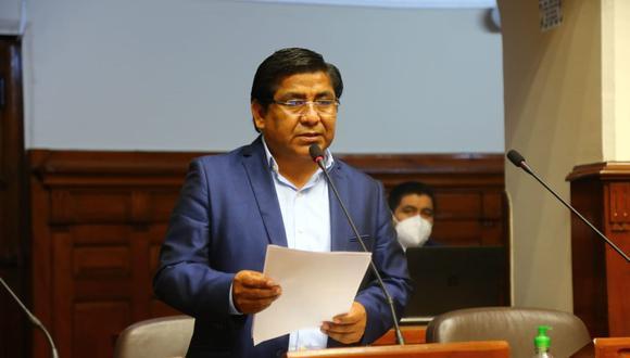 Luis Dioses señaló que se necesita estabilidad política para superar la crisis económica que causó la pandemia y no pedidos de vacancia. (Foto: Andina)
