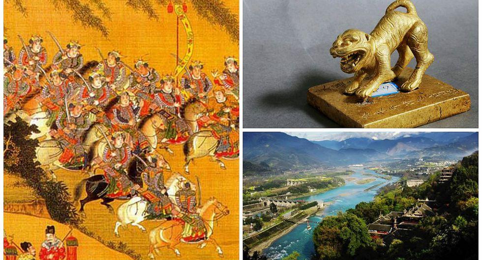 China: Descubren un tesoro hundido en el lecho del río Min