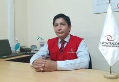 """Nuevo jefe de la Contraloría en Huancavelica: """"La pandemia cambió nuestra forma de trabajo"""""""
