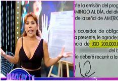 Melissa Klug ahora exige 200 mil dólares a Jefferson Farfán por romper acuerdo de confidencialidad (VIDEO)
