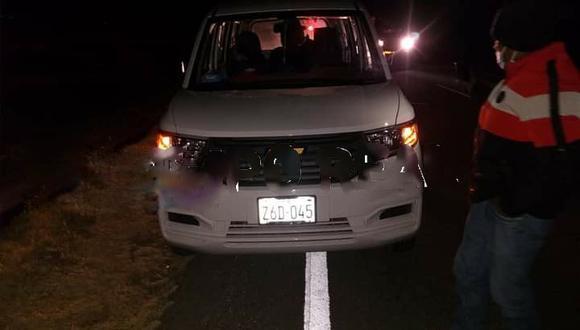 El conductor del vehículo fue llevado a comisaría local. (Foto: Difusión)