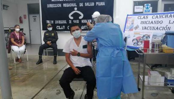 Piden garantizar el suministro del lote de vacunas Pfizer que la región Piura, a través del Gobierno Regional y la Dirección Regional de Salud viene demandando para asegurar inocular, en esta primera etapa de la nueva estrategia, a más de 40 mil 600 adultos mayores de 80 años. (Foto: Diresa)