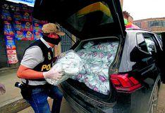 Autoridades intervienen comercio por vender detergente 'bamba'
